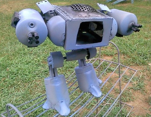Robocop's ED-209 Made From Junk of the Day