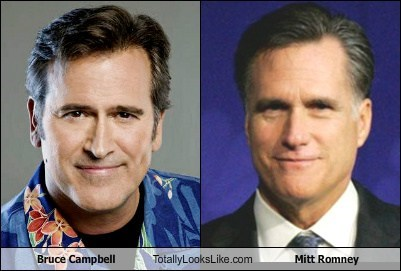 Bruce Campbell Totally Looks Like Mitt Romney