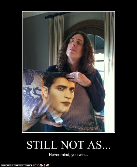 actor,celeb,demotivational,funny,Music,robert pattinson,Weird Al Yankovic