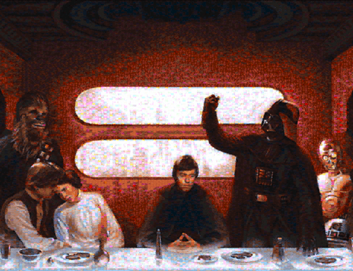 Star Wars Last Supper Mosaic of the Day