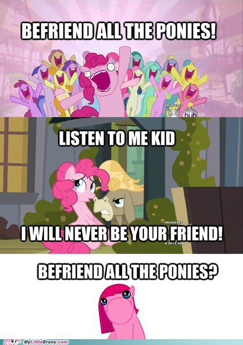 Befriend ALL the Ponies!