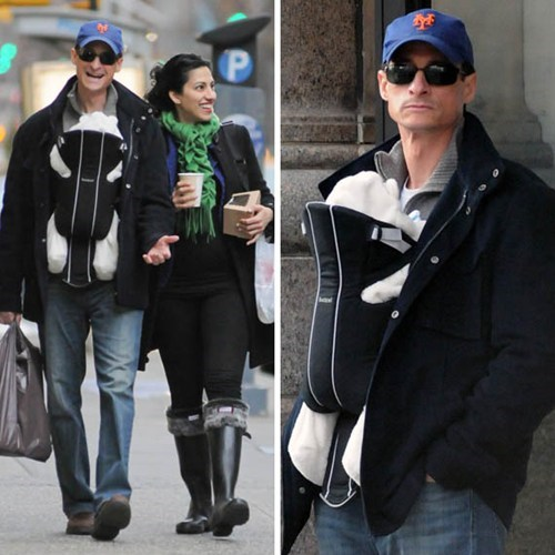 Anthony Weiner Out And About of the Day