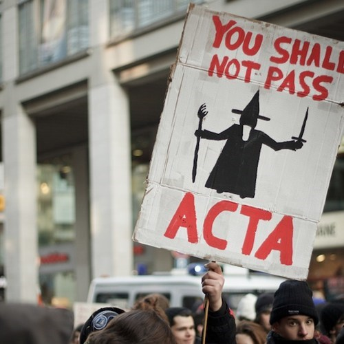 ACTA Stalled by European Commission of the Day