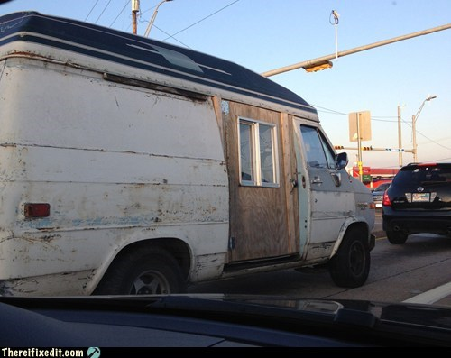 It Was Born a Van, But in its Heart, it Knew it Was a Woody Wagon