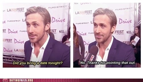 Ryan Gosling is Forever Alone
