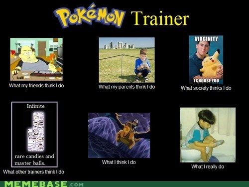 The True Life of a Pokémon Trainer
