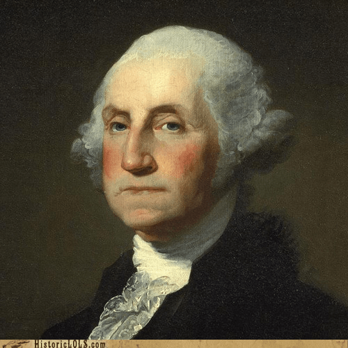 art,george washington,history,news,painting,portrait,This Day In History