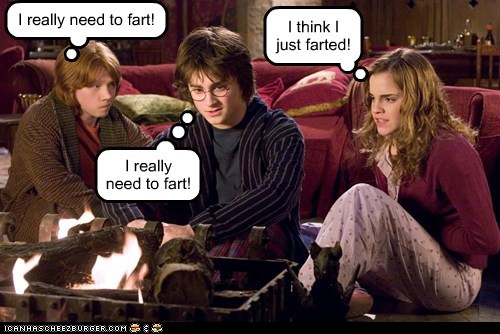 Harry Potter and the Chamber of Gastric Discomfort.