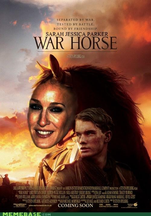 horse,Memes,movies,oscar,sarah jessica parker,War Horse