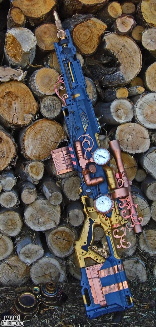 WIN!: Steampunk Nerf Mod WIN