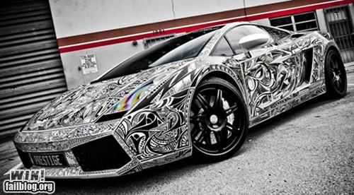 Sharpie Lamborghini WIN