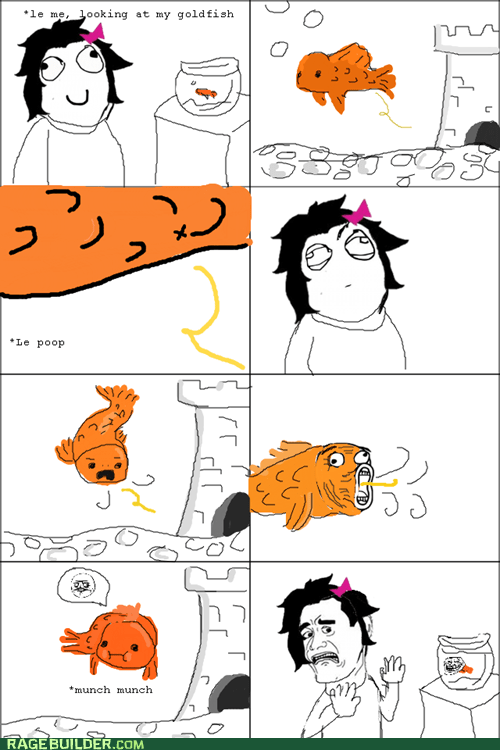 Rage Comics: Reduce, Reuse, Recyclefish