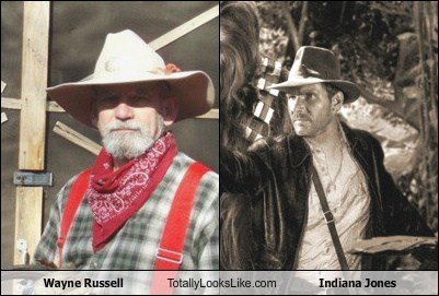 Wayne Russell Totally Looks Like Indiana Jones