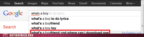 Forever Alone Google Autocomplete