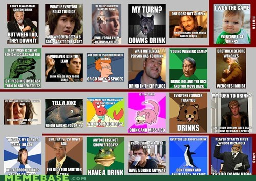 The Meme Drinking Game