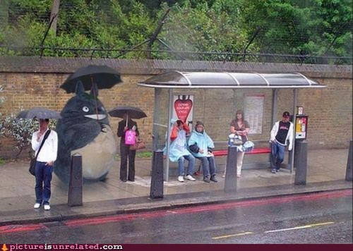 Meanwhile, at the Bus Stop