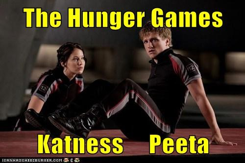 The Hunger Games  Katness     Peeta