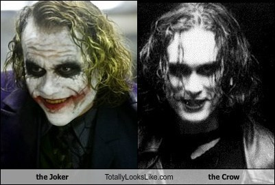 Brandon Lee,funny,Hall of Fame,heath ledger,The Crow,the joker,TLL