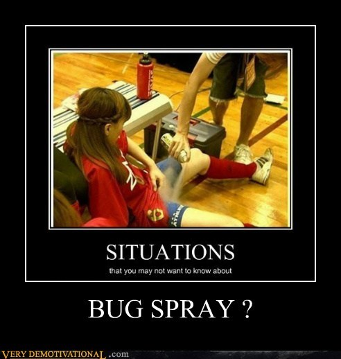 BUG SPRAY ?