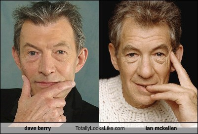 Dave Berry Totally Looks Like Ian Mckellen