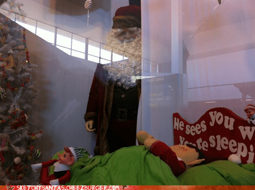 He Sees You When You're Sleeping....