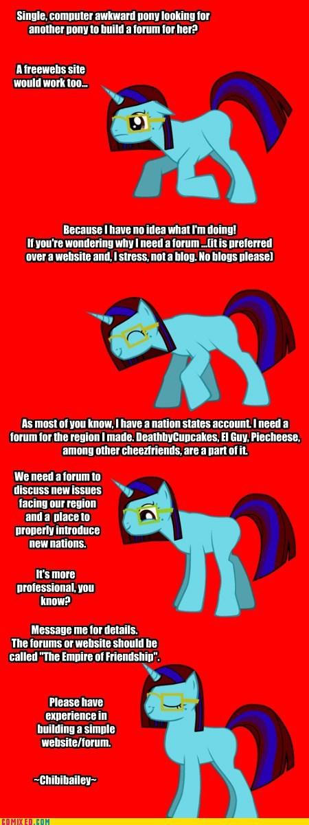 Pony Requesting Website?
