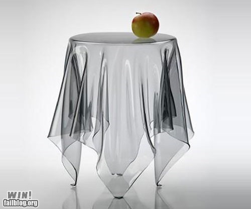 Transparent Table WIN
