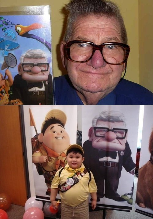 Real-Life Pixar Characters of the Day