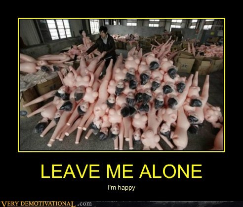 alone,doll,hilarious,leave,wtf