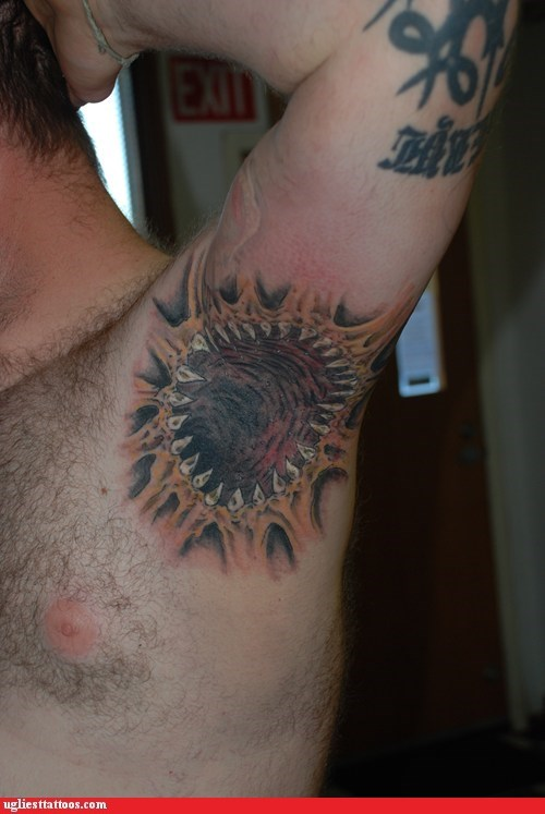 Armpit Sarlacc Wants to Devour Your Soul