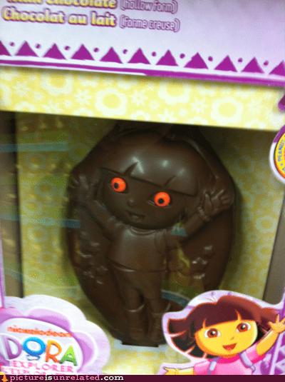 Chocolate Dora WANTS YOUR SOUL