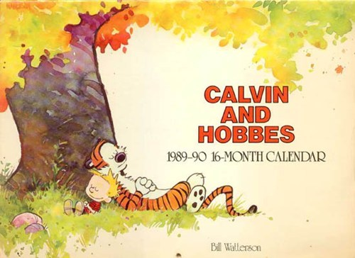 Calvin and Hobbes Artwork Auction of the Day
