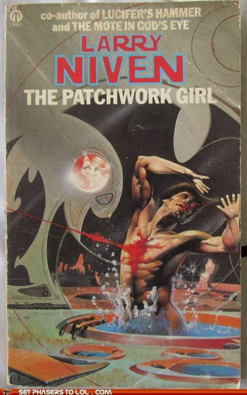 WTF Sci-Fi Book Covers: The Patchwork Girl