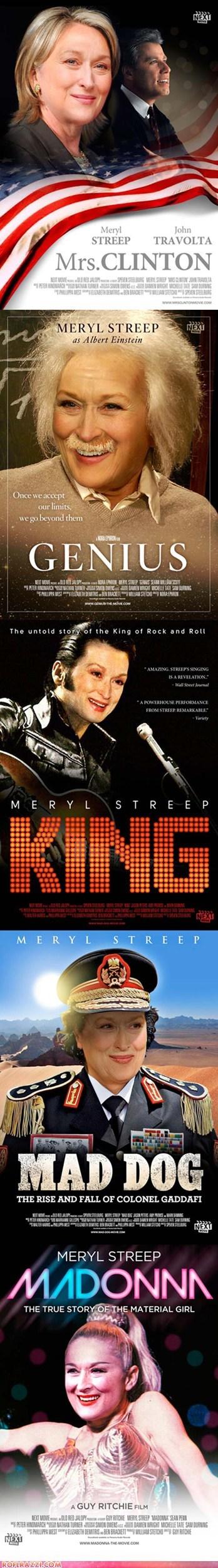 Proof That Meryl Streep can Play Anyone