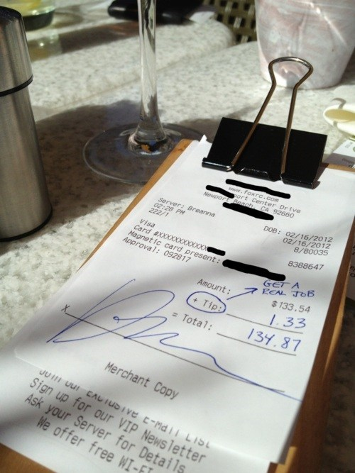 Terrible Tipper of the Day