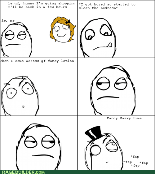 Rage Comics: Fancy Lotion? Mmm, Quite