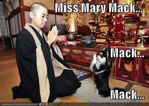 Miss Mary Mack... Mack... Mack...