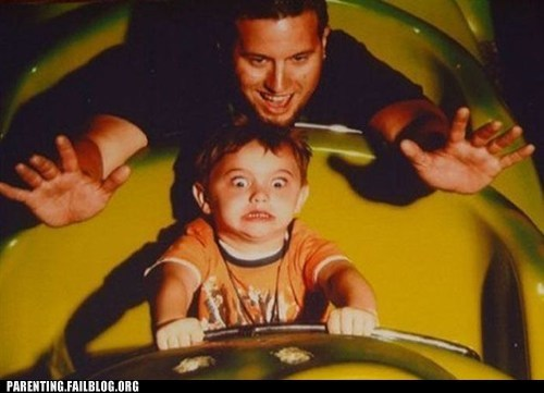 Roller Coasters Are Great For Childhood Trauma!