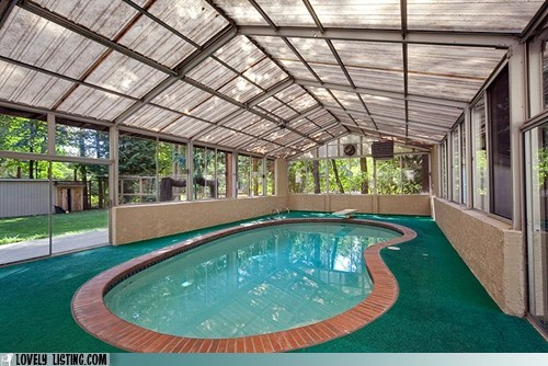 Pool, Pacific Northwest Style