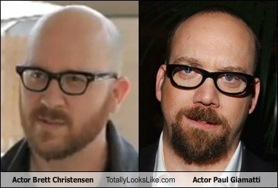 Actor Brett Christensen Totally Looks Like Actor Paul Giamatti