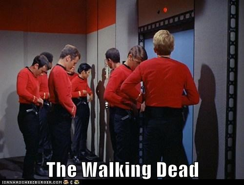 best of the week,doomed,dying,red shirts,Star Trek,The Walking Dead