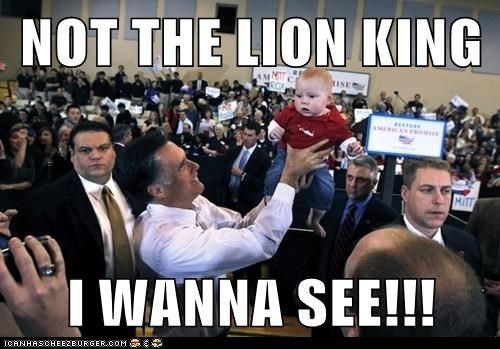 NOT THE LION KING  I WANNA SEE!!!