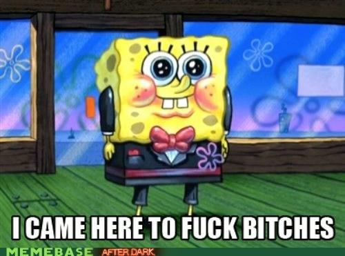spongey...