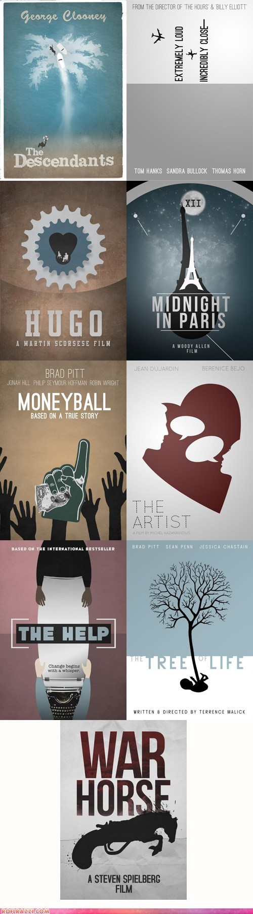 Nine Incredible Best Picture Posters Redesigned