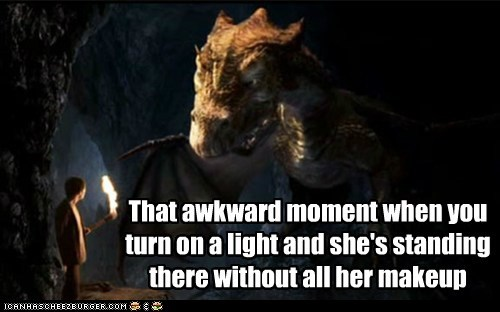 dragon,makeup,marriage,merlin,that awkward moment