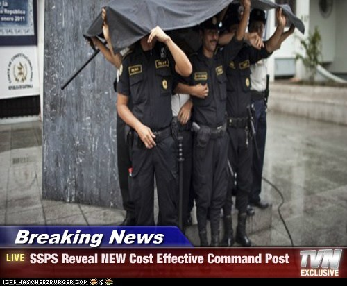 Breaking News - SSPS Reveal NEW Cost Effective Command Post