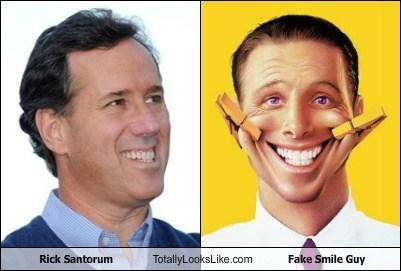 fake smile guy,funny,Hall of Fame,Rick Santorum,TLL