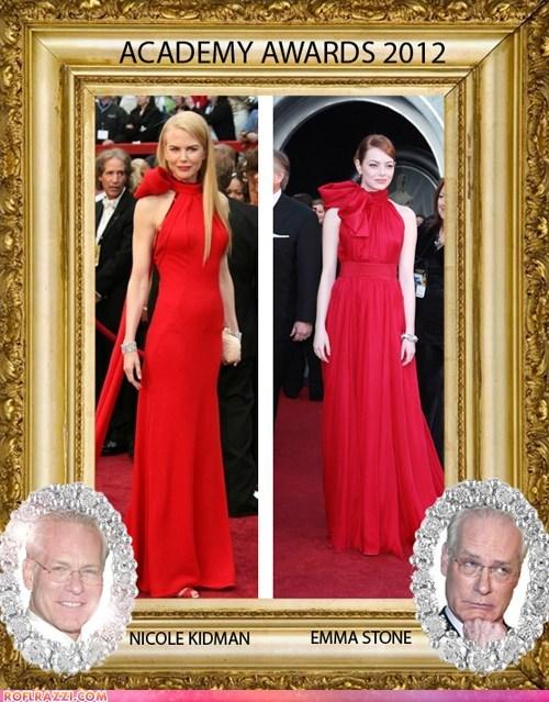 Tim Gunn's Fashion Frame: Nicole Kidman vs. Emma Stone