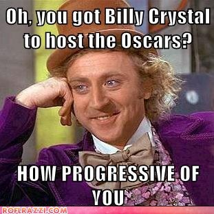 Wonka Watches the Oscars