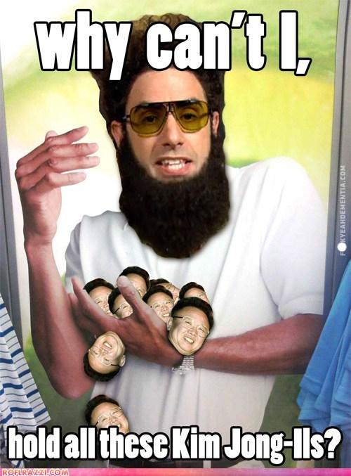 academy awards,Kim Jong-Il,Memes,oscars,sacha baron cohen,why-cant-i-hold-all-thes